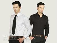 xxxxl gratis al por mayor-Nueva Llegada Blanco Negro Color Buen Gusto Camiseta 2017 Venta Caliente Novio Camisas Accesorio de La Boda para Los Hombres Envío Gratis