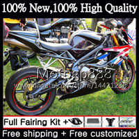 Wholesale Triumph Daytona675 - Bodywork For Triumph Daytona 675 09 10 11 12 Body 8G812 Daytona675 09-12 Daytona 675 2009 2010 2011 2012 Red white black Motorcycle Fairing