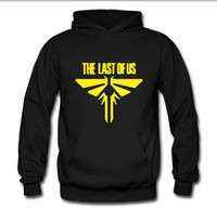 Wholesale Survivor Man - Fireflies fireThe Last Of Us doomsday rest last survivor sweatershirt personalize PULLOVER hoodie clothes