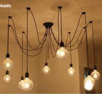 16 light chandelier NZ - Edison Chandelier Classic Vintage Ancient Light Living Room Chandelier Dining Room Ceiling Light 6-16 Heads Bedroom Lamp