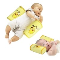 Wholesale Baby Beans Pillow - 1pcs ComfortableCotton Anti Roll Pillow Cute Baby Toddler Safe Cartoon Sleep Head Positioner Anti-rollover YKS A3*