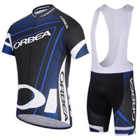 Wholesale Wholesale Orbea Bikes - new style ORBEA men's cycling Jersey suit with short sleeve bike top & padded (bib) short in cycling clothing, breathable bicycle wear