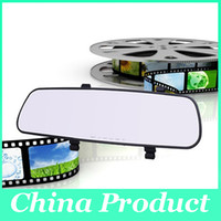 Wholesale monitor boards - 2.8 Inch Nice Rear-view Mirror Car Dvr Direct Selling Super Night Vision Recorder HD Wide-Angle On-Board Monitoring 010228