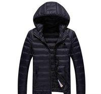 Wholesale Eiderdown Coat - AD brand men 's coat winter down jacket Best Quality adults hoodies 100% eiderdown 4 colors size M-3XL hot sell