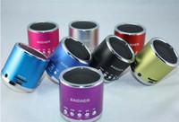 Wholesale Portable Mini Kaidaer Speaker - New Arrival Free Shipping Music Angel Kaidaer Mini Multimedia Portable Micro SD Dard Speaker KD-MN01 Mix Color HZ 177