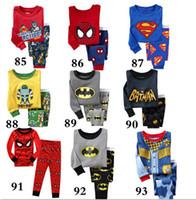 Wholesale Despicable Characters - New Pyjamas boy girl kids long sleeve pajama set baby minions pajamas sleepwear Despicable Me pyjamas kids autimn winter pajamas