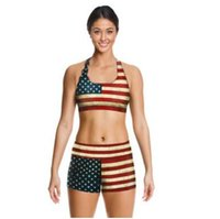 Wholesale Yoga Outfit Wholesalers - 13 Design Women Sport Clothes Sets 2016 3D Printed Women Sportswear Sets Outfits Sport Tank Top Fitness Shorts Pants Sets Sport Wear 099