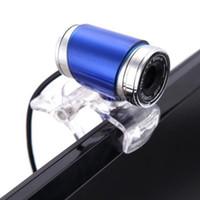 câmera webcam quente venda por atacado-QUENTE! Nova USB 2.0 12M HD Camera WebCam com MIC Night Vision Para PC Laptop Top SM65