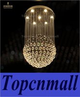 Wholesale Led Crystal 24 Ball - Modern LED Ball K9 Crystal Chandeliers Fashionable Design Lamps Luxury Bulb Lights Hanging Wire Hotel Lighting