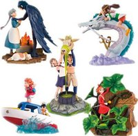 Wholesale Howls Moving Castle Toy - 10 Styles Hayao Miyazaki Hayao Cartoon Display Dolls The borrowers KiKis Delivery Service Porco Rosso Howls Moving Castle Toy