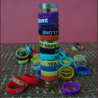 elektronische zigarette neueste mechanische mods großhandel-Neueste rutschfeste mod silikon ring elektronische zigarette silikon vape ring für mechanische mods e zigarette zubehör silikon ringe dhl frei