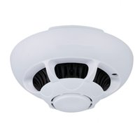 Wholesale Iphone Detection - UFO P2P Wifi IP Camera Smoke Detector Hidden Camera Security Camcorder Mini DVR for IOS iPhone iPad Remote View