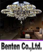 modern ceiling art 2018 - llfa1415 luxurious decorative art modern style home restaurant k9 lustre crystal chandelier light fixture lighting ceiling light lamps