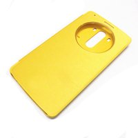 Wholesale Lg Optimus Luxury Case - Wholesale-For LG Optimus G3 D855 D850 smart view Window Luxury leather back cover Flip Cases case