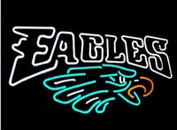 American Football Team Piladelphia AEagles Neon Sign Illuminazione Game Bar Disco PUB Club Dsiplay Adertisement Segno Decorazione Segno 16