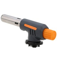 Hot Sale camping en plein air Voyage gaz briquet torche Flame Gun BBQ Soudage Flamethrower Butane Burner Gas Torch Y2105