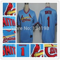 Unisex st baby - 2016 New Ozzie Smith Jersey Baby Blue St Louis Cardinals Jerseys