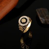 Wholesale Gold Filled Mens Ring - Brand New High Quality CZ Diamond Superhero Mens Rings Gold Filled 2016 Fashion Figure Ring Black YSMR005