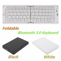 Wholesale-bewegliche Bluetooth 3.0 Tastatur Folding drahtlose Tastatur für iPhone iPad Samsung iOS Android Smartphone Tablet-Computer-