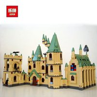 Wholesale Hero City - LEPIN 16030 1340Pcs The Hogwarts Castle Series MOC LEPIN Blocks Creator Technic City Friends Super Heroes Movie Lepin Toys