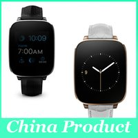 Wholesale Bluetooth Hrm - Zeblaze Crystal Curved 1.54inch IPS 3D HD screen Smart Watch MTK2502 HRM Real Heart rate Bluetooth 4.0 Genuine Leather Strap 010246