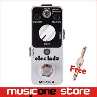 Wholesale Sound Shells - Mooer Eleclady Analog Flanger Pedal Classic analog flanger sound with filter mode and oscillator effects Full metal shell Truebypass MU0343
