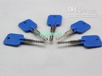 Wholesale Lock Pick Sets Wholesale - Try-out key for Cross Lock, With 5 pcs in a set, locksmith tools, lock pick H296 A2