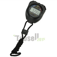 Wholesale Digital Stopwatch Compass - sports compass electronical multifunctional timer waterproof Stopwatch Sports Timer Counter Digital Running free shipping KCHMA-6238