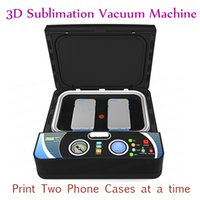 Wholesale Transfers For Heat Press Machine - ST-2030 Smart 3D Vacuum Heat Press Machine Phone Cases Sublimation Heat Transfer Machine For Two Phone Case 400W 110V 220V
