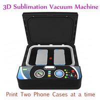 ST-2030 Smart 3D Vakuum Heat Press Maschine Telefon Fällen Sublimation Wärmeübertragung Maschine für zwei Telefon Fall 400W 110V 220V