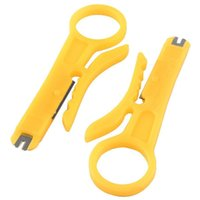 Wholesale Cable Wire Crimping Tool - Mini Portable Wire Stripper Knife Crimper Pliers Crimping Tool Cable Stripping Wire Cutter KT0156