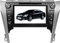 Wholesale Lcd Gps Navigation Bluetooth - Car DVD Player for Toyota Camry 2012 in Europe with 8 inch TFT-LCD touch screen and GPS navigation