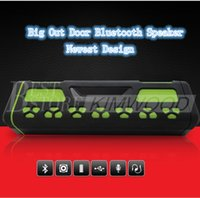 Wholesale Nice Mobile Phones - Bluetooth Speaker Big Out Door New Design Wireless Speaker TF-Card Best Quality Best Body Style Nice Music Play