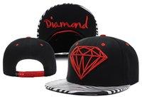 Wholesale Cap Snapback Asap - HOT SALE Diamond Snapback Black caps Cayler & Sons ASAP Snapback Sport Cap Men Woman Baseball Cap Adjustable Diamond hats Drop shipping