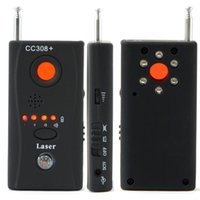 CC308 + Anti-Spy Detector de Câmera Multi-Detector Wireline Wireless Signal GSM ERUG Dispositivo de escuta Full-Frequency Full-Range All-Round Finder