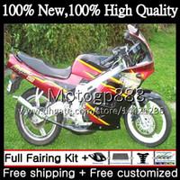 Wholesale Rgv Vj23 - Body New For SUZUKI RGV250 VJ23 97-98 RGV 250 97 98 Bodywork 39G813 RGV-250 Black red VJ 23 Cowling RGV250 1997 1998 Motorcycle Fairing kit