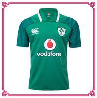 Wholesale Flashing Shirts - Ireland 2017 2018 rugby Jerseys Irish IRFU NRL National Rugby League rugby shirt nrl jersey 17 18 Irishman shirts s-3xl