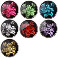 Wholesale plastic snap button black - D02262 Rivca button for noosa bracelet noosa snaps copper button noosa chunk