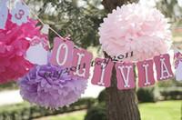 bolas de flores 15cm venda por atacado-2017 20 pcs tamanho misto (10 cm, 15 cm, 20 cm, 25 cm, 30 cm, 35 cm) papel de tecido pom poms bolas de flores artificiais de aniversário decoração de casamento festa de crianças