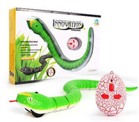 Wholesale orange rc radio for sale - Group buy RC Snake Boys Toy Bionic Reptile Animal CH Infrared Remote Radio Control Ratlesnake Tricky Brains Early Childhood Education Toys