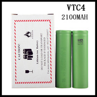 US 18650 VTC4 2100mAh 3.7V batería Li-ion para cigarrillo E Manhattan King Nemesis Stingray Modificaciones mecánicas 0204105 -1