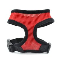 S5Q multi-colorata regolabile soft Dog Pet Air Mesh traspirante cucciolo Vest Harness AAAEOA