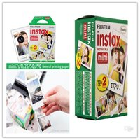 Wholesale High quality Fuji instant polaroid photographic paper mini7 to s paper White paper box