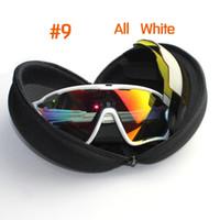 Wholesale Motocross Lens - Polarized Sunglasses 4 lens oculo de sol masculinity jawbreakered Cycling Glasses Men Women Outdoor Sport Cycling Eyewear motocross goggles