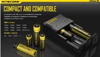 Wholesale Electronic Cigarettes Digital - Battery Digital Charger Nitecore Intellicharger I2 Li-ion Electronic Cigarette Charger For 16340 18650 14500 26650 Battery vape charger