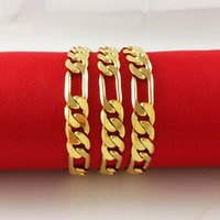 18kgp goldkette halskette großhandel-Dicke Männer 18kgp Halskette 24