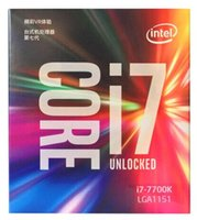 2018 originale per processore Intel Core i7 7700K 4.20GHz / 8MB cache / quad core / zoccolo LGA 1151 / quad core / desktop I7-7700K CPU