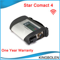 Wholesale Mercedes Star Sd Connect - New MB Star Compact 4 full set with wifi support more than 20 languages SD Connect C4 For Mercedes Benz Diagnostic DHL Free Shipping