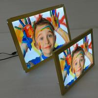 Wholesale A3 Led Light Box - New SL1830 LED Light Box A3 Advertising Aluminum Snap Frame Backlit Indoor Signs