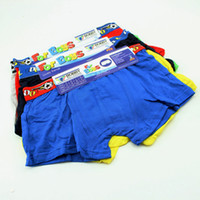 Wholesale Cotton Boxer Boy - Baby boys comfortable pure color boxers trunks boxers children boys Cotton football shorts size choose freely
